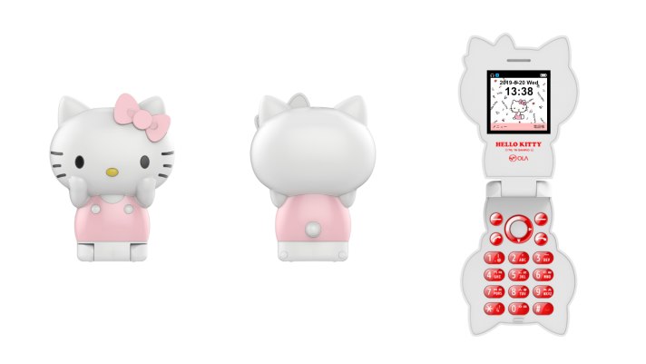 Hello Kitty Phone Cordless Handset